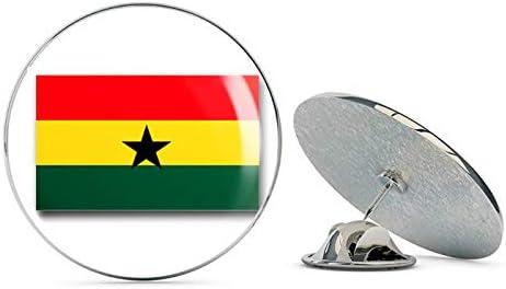 Ghana Flag Tie Tack