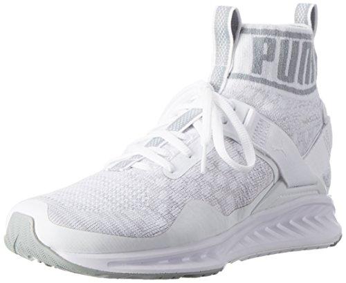 Puma Dame Antænde Evoknit Wn S LaufSko Weiß (puma Hvid-stenbrud-dampformige Grå 02) YH1H4pqCw2