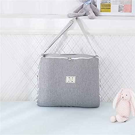 Ustide Baby Bassinet for Bed Multifunctional Baby Nest Breathable Hypoallergenic Cotton Cloud with Bag Easy Carry Baby Cradle 17.7x33.5