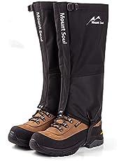 Anti-slang beenbewegers verstelbare en waterdichte wandelschoenen Leggings geschikt voor wandelen en woestijn jungle camping