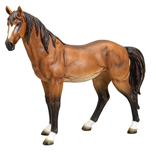- Bits and Pieces - Large Horse Sculpture - Durable Resin Sculpture - Remarkable Realistic Detail