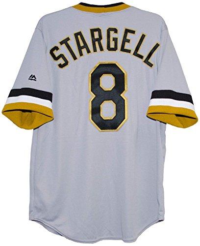 Willie Stargell Pittsburgh Pirates Cool Base Men's Replica Jersey (Medium)