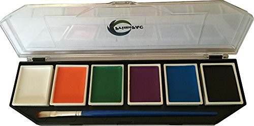 - Face Paint & Body Paint Color. Art Makeup Kit for School, Halloween, Birthday, Dress Up Games, Cosplay. Drawing Arts Crafts Educational Toys. Creative Fantasy without limits. Great Coverage on Skin
