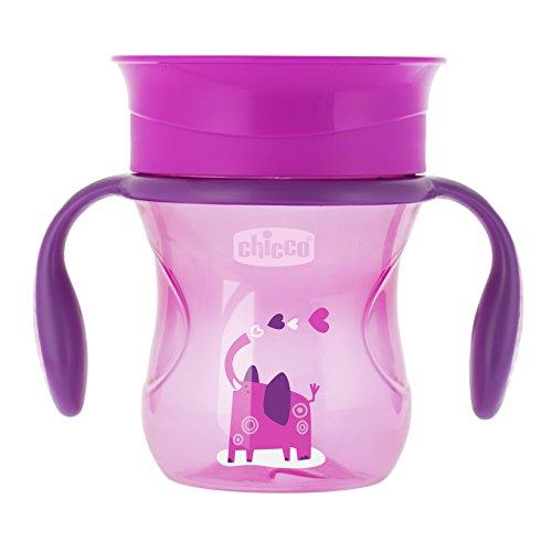 Chicco Perfect Cup 360 12m+ para Niñas, color Rosa