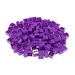 Strictly Briks Classic Bricks 144 Piece 2x2 Purple Building Brick Creative Play Set - 100% Compatible with All Major Brick Brands
