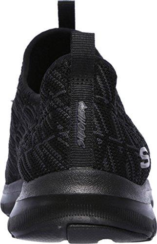 Skechers Frauen Flex Appeal 2.0 Insight Sneaker Schwarz Schwarz