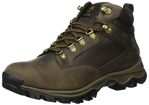 Marrone Polacchine Keele Timberland Uomo Medium Brown Waterproof Leather Ridge xfYdY7I