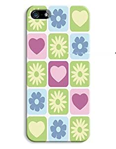 Hearts and Flowers Case for your iPhone 5/5S