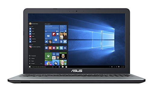 2016 Asus ViviBook 15.6' High Performance Laptop PC, Intel Pentium N3700, 4GB RAM, 500GB HDD, DVD+/-RW, HDMI, VGA, WIFI, Webcam, Windows 10