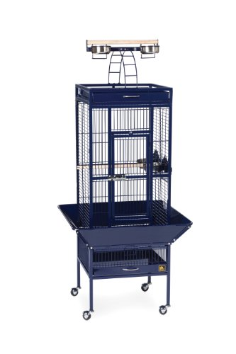 Prevue Pet Products Wrought Iron Select Bird Cage Cobalt ...