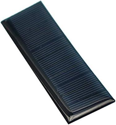 GuoQiang Zhou LDTR-WG0096 / A 5,5 V 60 mA 100 x 28 mm polykristallines Silizium-Solarpanel - SCHWARZ