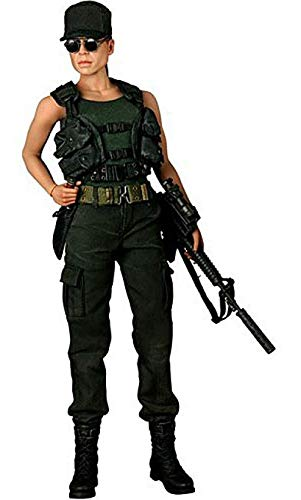 Hot Toys Terminator 2 Judgment Day Movie Masterpiece Sarah Connor Collectible Figure
