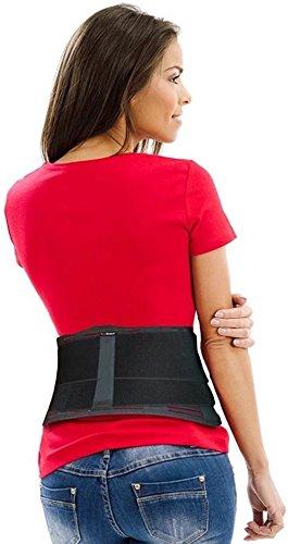 AidBrace Back Brace Support Belt - Helps Women & Men Relieve Lower Back Pain with...
