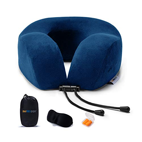 SAIREIDER Supportive Airplanes Pillows Earplugs product image