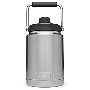 YETI Rambler Vacuum Insulated Stainless Steel Half Gallon Jug with MagCap