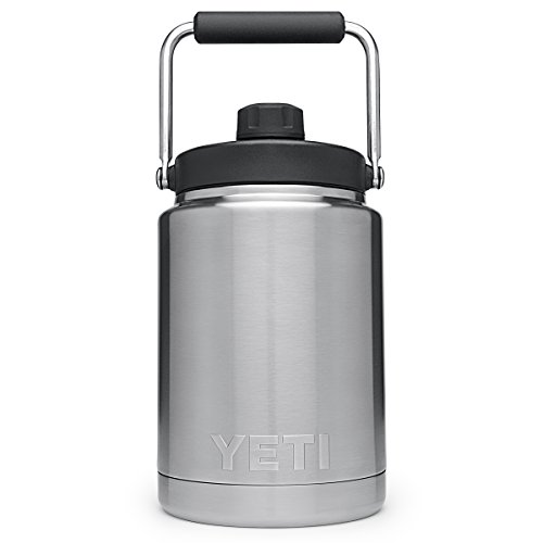 YETI Rambler Vacuum Insulated Stainless Steel Half Gallon Jug with MagCap by YETI