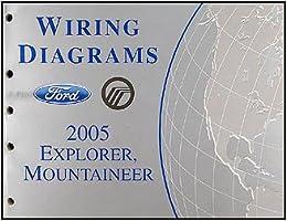 2005 ford explorer & mercury mountaineer wiring diagram manual: ford:  amazon.com: books  amazon.com