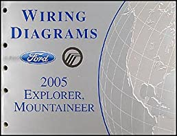 2005 ford explorer mercury mountaineer wiring diagram manual ford rh amazon com 2005 ford explorer dvd wiring diagram 2005 ford explorer starter wiring diagram