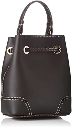 Furla Stacy Mini Drawstring - Bolsos maletín Mujer Negro (Onyx)