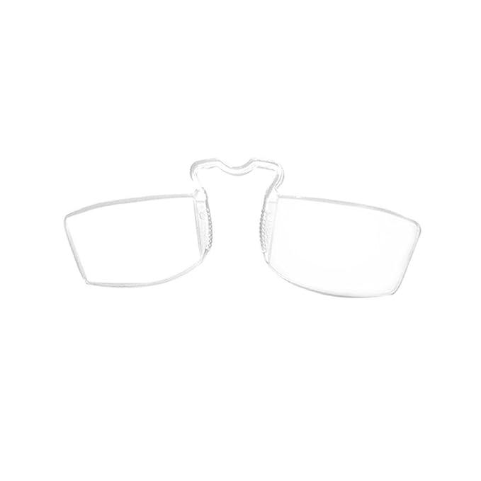 3 opinioni per JUNDASI Uomini e donne naso riposo occhiali da lettura Pince-nez occhiali da