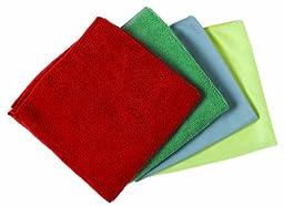 O\'Cedar Commercial 96068 MaxiPlus Polishing Microfiber Cloth, Yellow (Pack of 12)