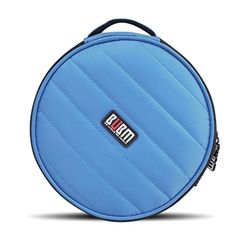 BUBM Portable Polyester CD/DVD Wallet 32 Disc Capacity for sale  Delivered anywhere in USA