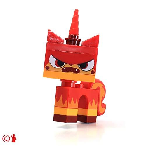 LEGO Movie Angry Kitty Minifigure Red Unikitty Microbuild (70814 Lego Movie)