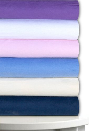 Organic Fleece (Magnolia Organics Fitted Fleece Crib Sheet - Standard, White)