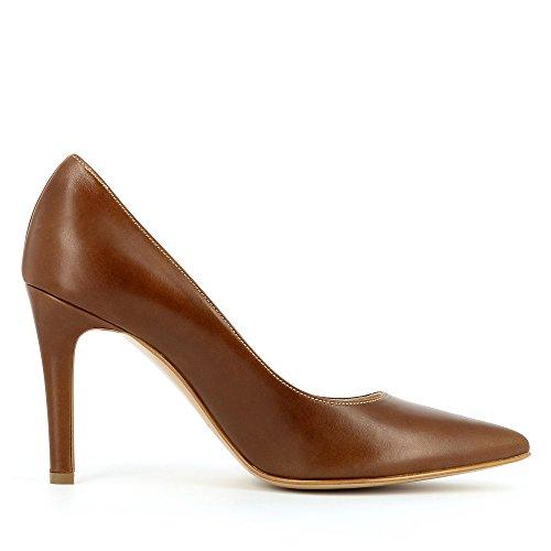 marrón Evita Vestir cognac de Zapatos ShoesILARIA Mujer Marrón wwUxpY6Pq
