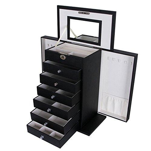 SONGMICS Jewelry Cabinet Organizer UJBC06B