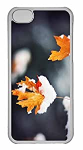 iPhone 5C Case, Personalized Custom Tranquility 2 for iPhone 5C PC Clear Case