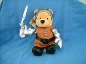 DISNEY Bean bag plush King Arthur Winnie the Pooh