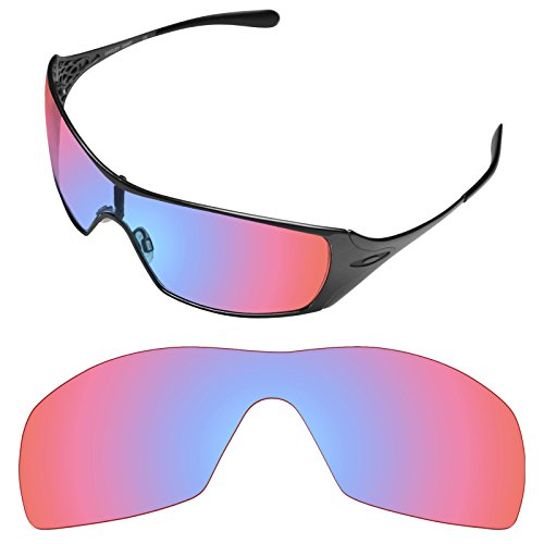 (Tintart Performance Lenses Compatible with Oakley Dart - HD Trail Ruby)