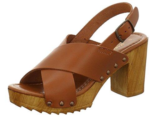 Marco Tozzi 22 28349 26 305 - Sandalias de vestir de Piel para mujer marrón