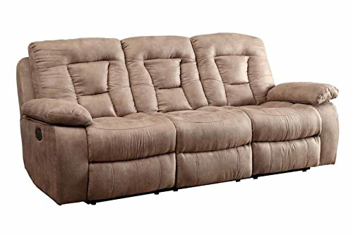 Coaster Home Furnishings 601861P Evensky Motion Collection Power Sofa, Brown