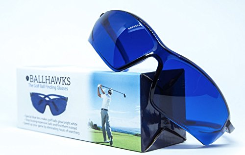 Ballhawks - The Original Golf Ball Finding Glasses [Packaging Makes for Great Golf Gift]