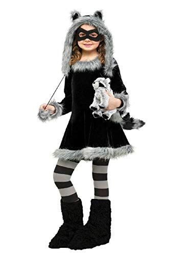 Child Sweet Raccoon Animal Costume
