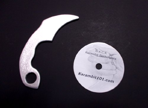 Aluminum-Kerambit-Trainer-Knives-B-Karambit-Training-DVD-Video-Silat-Serak