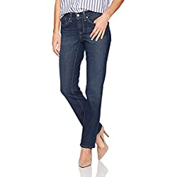 Signature by Levi Strauss & Co. Gold Label Women's Curvy Straight Jeans, Awaken, 14 Medium