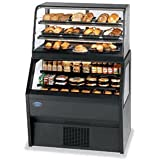 Federal Industries CD4828/RSS4SC Specialty Display Hybrid Merchandiser Refrigerated Self-Serve Bottom With Non-Refrigerated Service Top