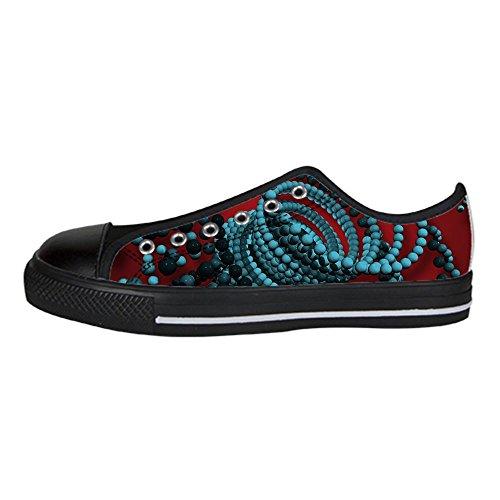 stereoscopica delle Tela in Dalliy Lacci di Le 3D Scarpe di Scarpe Shoes I da Ginnastica Stampa Scarpe Alto Sopra Scarpe Custom Men's Canvas qwtzS