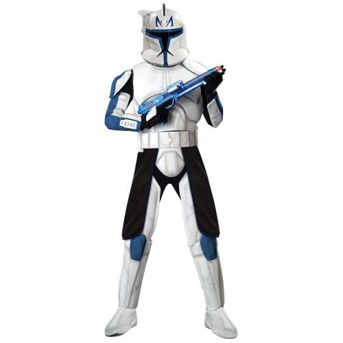 Deluxe Capatin Rex Adult Costume - (Captain Rex Halloween Costume)