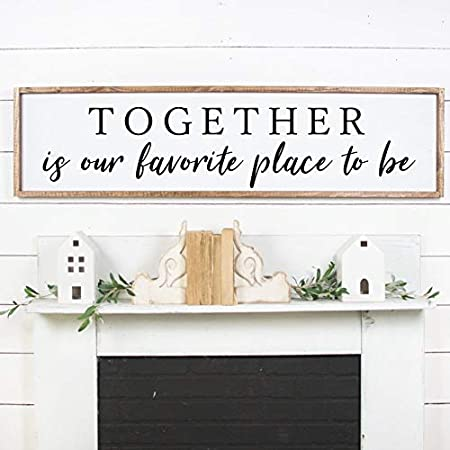 Framed Wall Art,Wood Wall Art,Wooden Signs,Wood Sign,Wood Framed Signs,Set Of 2,Set Of 2 Signs,Gift For Her,Home Decor,Home Sign,Quote Signs