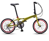 Dahon Visc D18 Appletini Folding Bike Bicycle