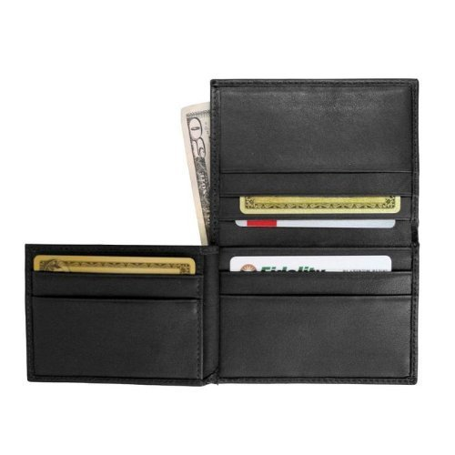 Black Credit Leather Flip Black Men's Card Wallet Card Royce Leather Royce Wallet Credit Flip Men's Royce wAZqw1