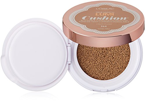 L'Oréal Paris True Match Lumi Cushion Foundation, N4 Buff Beige, 0.51 oz.