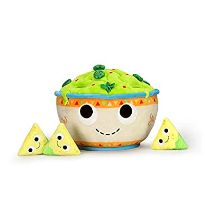 Yummy World Chips and Guacamole Interactive Large Plush: Toys & Games
