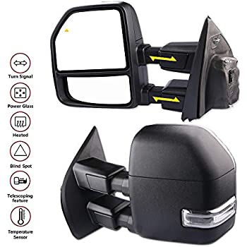 Amazon Com Mostplus New Power Heated Towing Mirrors W