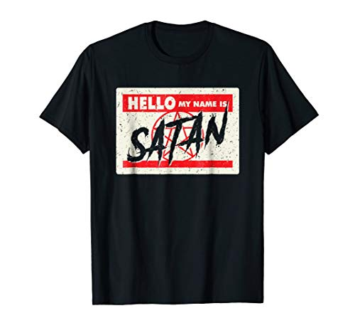 Halloween Is My Name (Hello my name is satan shirt - devilish halloween)
