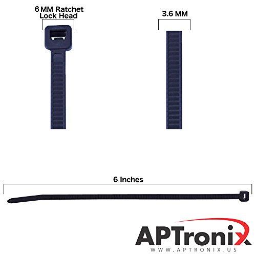 250-premium-heavy-duty-6-inch-zip-ties-black-nylon-cable-ties-xgs-wire-ties-by-aptronix-6-inch-black